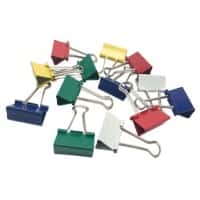 Office Depot Binder Clips 32 mm Assorted 50 Pieces