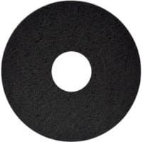 "Floor Maintenance Pads (Heavy Duty Wet Stripping) 15"" Black pack of 5"