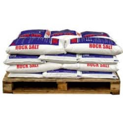 Standard Brown Rock Salt 20 x 25 kg Bags
