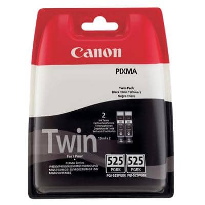 Canon PGI-525PGBK Original Ink Cartridge Black 2 Pieces