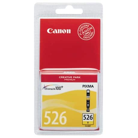 Canon CLI-526Y Original Ink Cartridge Yellow