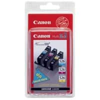 Canon CLI-526C/M/Y Original Ink Cartridge Cyan, Magenta, Yellow 3 Pieces