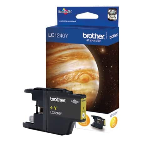 Brother LC1240Y Original Ink Cartridge Yellow