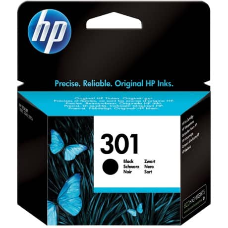 HP 301 Original Ink Cartridge CH561EE Black