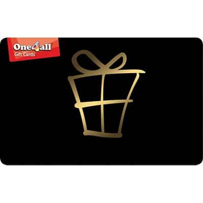 One4All Gift Card € 50 Black