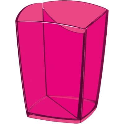 CEP Pencil Holder 530 H Polystyrene Pink 7.4 x 7.4 x 9.5 cm