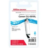 Office Depot Compatible Canon CLI-551C XL Ink Cartridge Cyan
