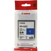 Canon PFI-102C Original Cyan Ink cartridge 0896B001