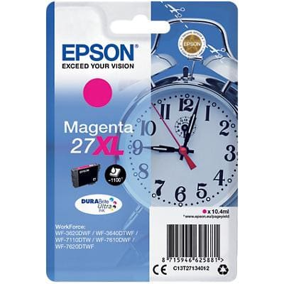 Epson 27XL Original Ink Cartridge C13T27134012 Magenta
