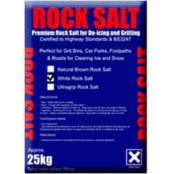 White Rock Salt 10 x 25 kg Bags