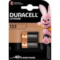 Duracell Batteries DUR020320 CR123 2 Pieces