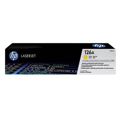 HP 126A Original Toner Cartridge CE312A Yellow