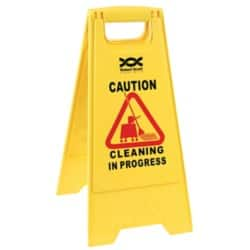WET FLOOR SIGN YELLOW