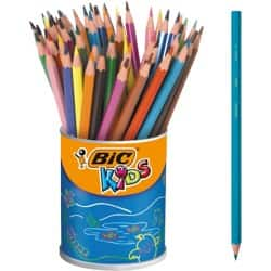 Bic Kids Evolution Resin Colouring Pencils - Assorted - Pack of 60
