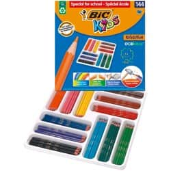 Bic Kids Evolution Colouring Pencils - Class Pack of 144