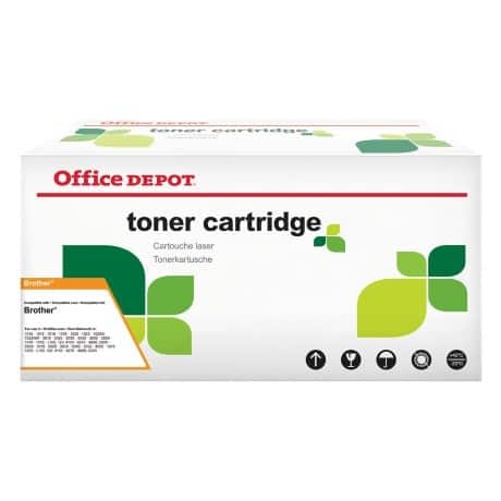 Office Depot Compatible Brother TN-2005 Toner Cartridge Black