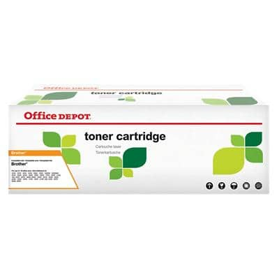 Compatible Office Depot Brother TN-2110 Toner Cartridge Black
