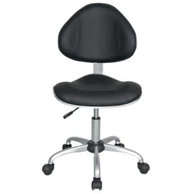 Realspace Office Chair Ryder Bonded leather Black