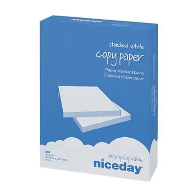 Niceday Copy Paper A4 80gsm White 500 Sheets
