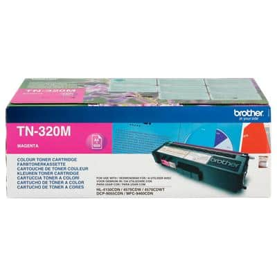 Brother TN-320M Original Toner Cartridge Magenta