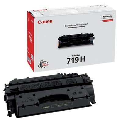 Canon 719H Original Toner Cartridge Black Black