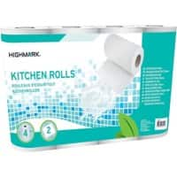 Highmark Kitchen Roll 2 ply 4 rolls of 64 sheets