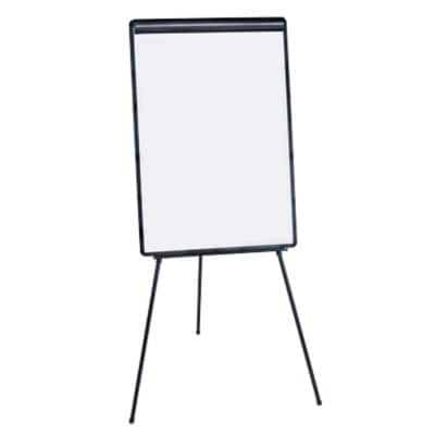 Niceday Flipchart Easel Height Adjustable Classic Black 90 x 65 cm