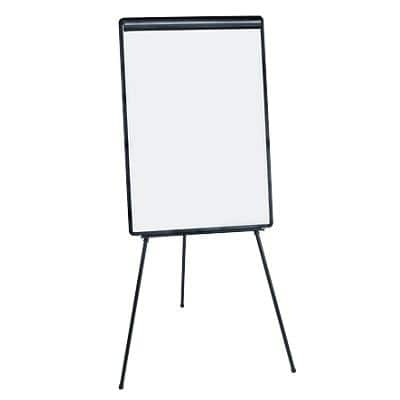 Niceday Freestanding Flipchart Tripod Easel with Adjustable Height 65 x 90cm Black