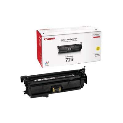 Canon 723 Original Toner Cartridge Yellow Yellow