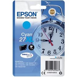 Epson 27XL Original Ink Cartridge C13T27124012 Cyan