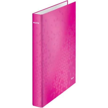 Leitz wow Ring Binder A4 2 ring 40 mm Pink