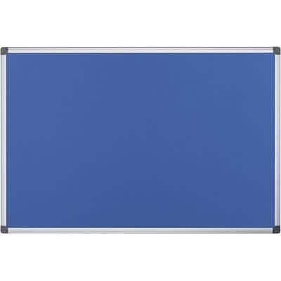 Office Depot Notice Board Blue 90 x 60 cm