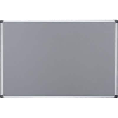 Office Depot Notice Board Felt Grey 90 x 60 cm