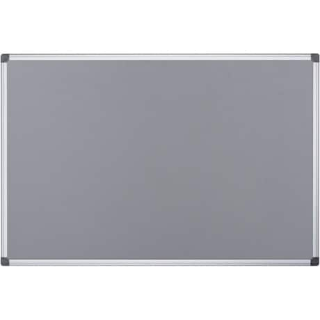 Office Depot Aluminium Frame Notice Board Grey 600 x 900 mm