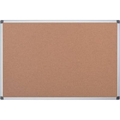 Office Depot Wall Mountable Cork Board CA021820 60 x 45cm Brown