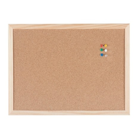 Niceday Notice Board Pine Brown 30 x 40 cm