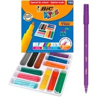 BIC Felt Tip Pens Kids Assorted Pack of 144