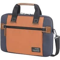 Samsonite Shoulder Bag 22N11002 34.5 x 10 x 24.5 cm Blue, Orange