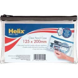 Helix PVC Pencil Case 200 mm x 125 mm
