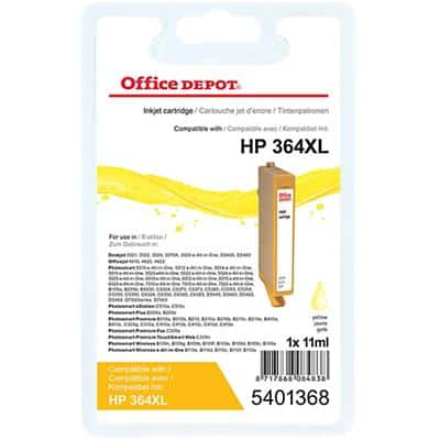 Office Depot Compatible HP 364XL Ink Cartridge CN687EE Yellow