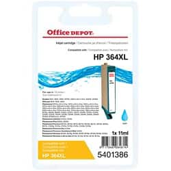 Office Depot Compatible HP 364XL Ink Cartridge cn685ee Cyan
