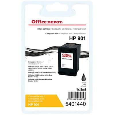 Office Depot Compatible HP 901 Ink Cartridge CC653A Black