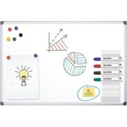 Office Depot Standard magnetic Whiteboard lacquered steel 240 x 120 cm