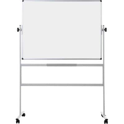 Office Depot Superior Magnetic Mobile Whiteboard Enamel 120 x 90 cm