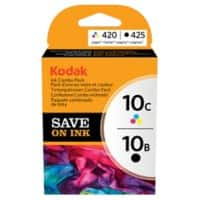 Kodak 10B & 10C Original Ink Cartridge 3949948 Black & 3 Colours 4 pieces