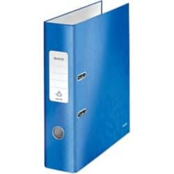 Leitz WOW 180° Laminated Lever Arch File, Blue, A4