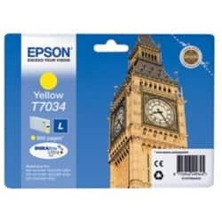 Epson T7034 Original Ink Cartridge C13T70344010 Yellow