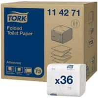 Tork Toilet Paper T3 Advanced 2 Ply 36 Pieces of 250 Sheets