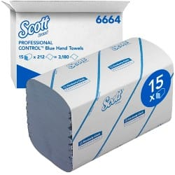 Scott Hand Towels Medium 1 ply 15 pieces of 212 sheets