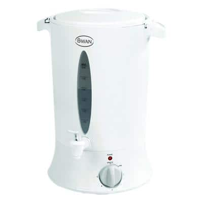 Swan Water Urn Thermostatically Controlled Plastic SWU8P 1800W 8L White
